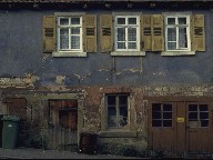 Old house in Maulbronn, Germany, 1986