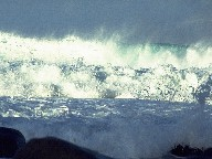 Ocean surf at Teneriffa's north coast, 1996