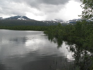 Lake Vuolip, Abisko National Park, Sweden, 2019
